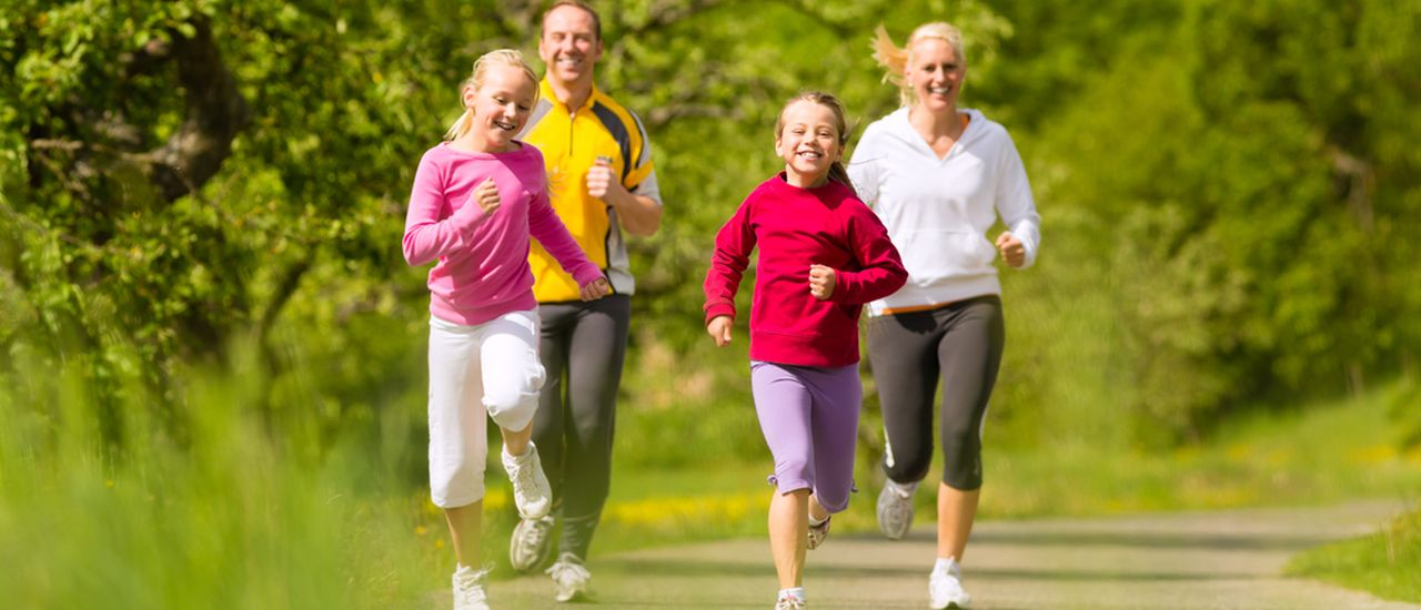 Get fit and make exercise a family affair