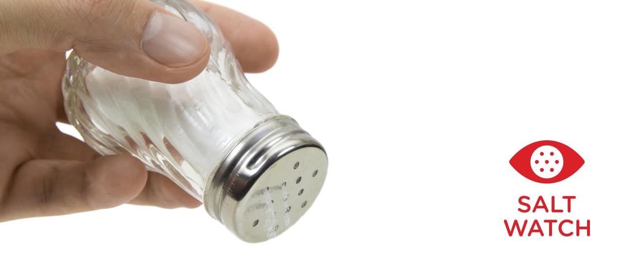 Tricks to help you reduce your salt intake