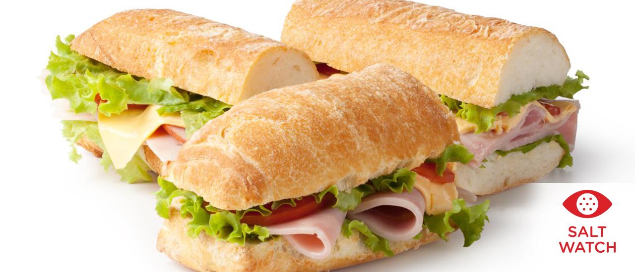 Salt in a sandwich