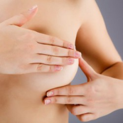 Breast Exam Index and Middle fingers