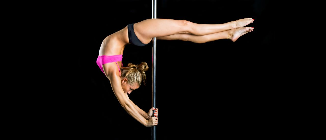 Pole dancing: It's a sexy, core workout!