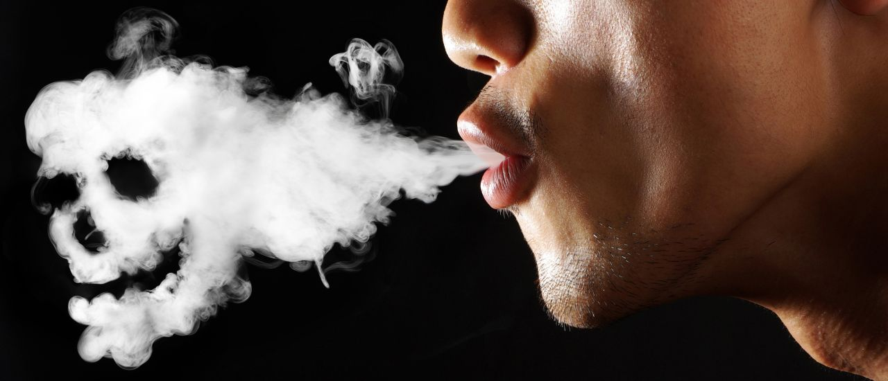 What happens to your body when you smoke a cigarette?