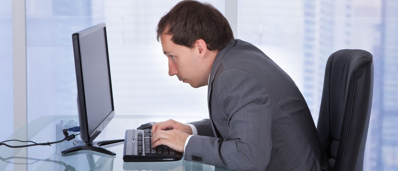 Could your desk job be affecting your posture?