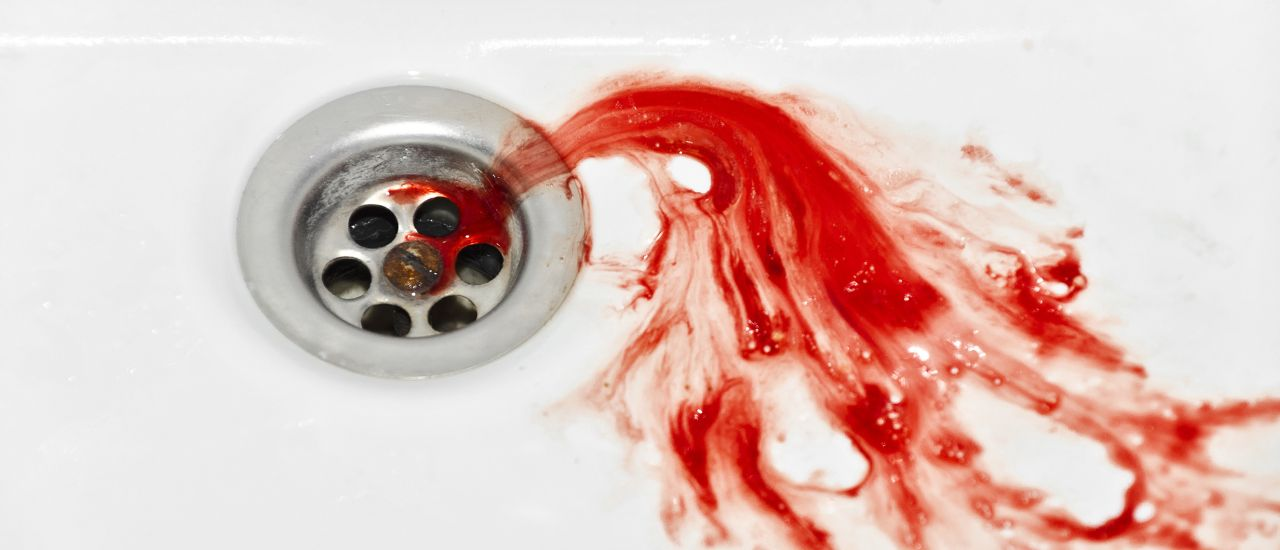 There is blood in my saliva! What now?