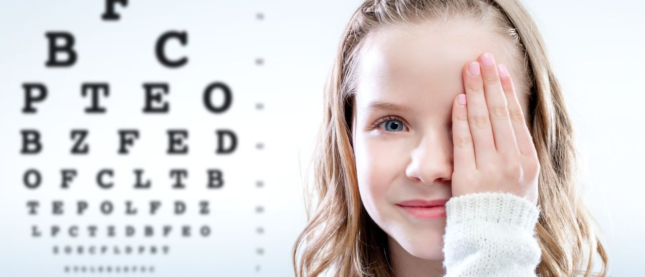 What happens during an eye check-up?