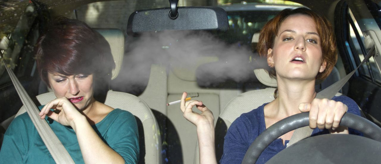 Is second-hand smoking a big deal?