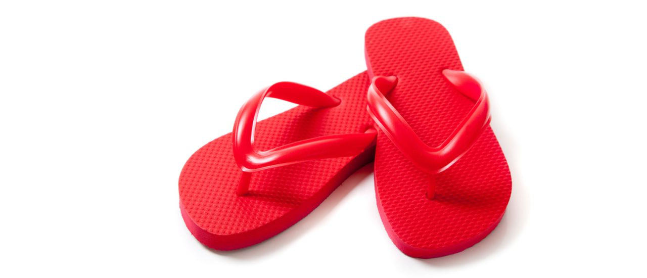 Are your flip flops foot-friendly?