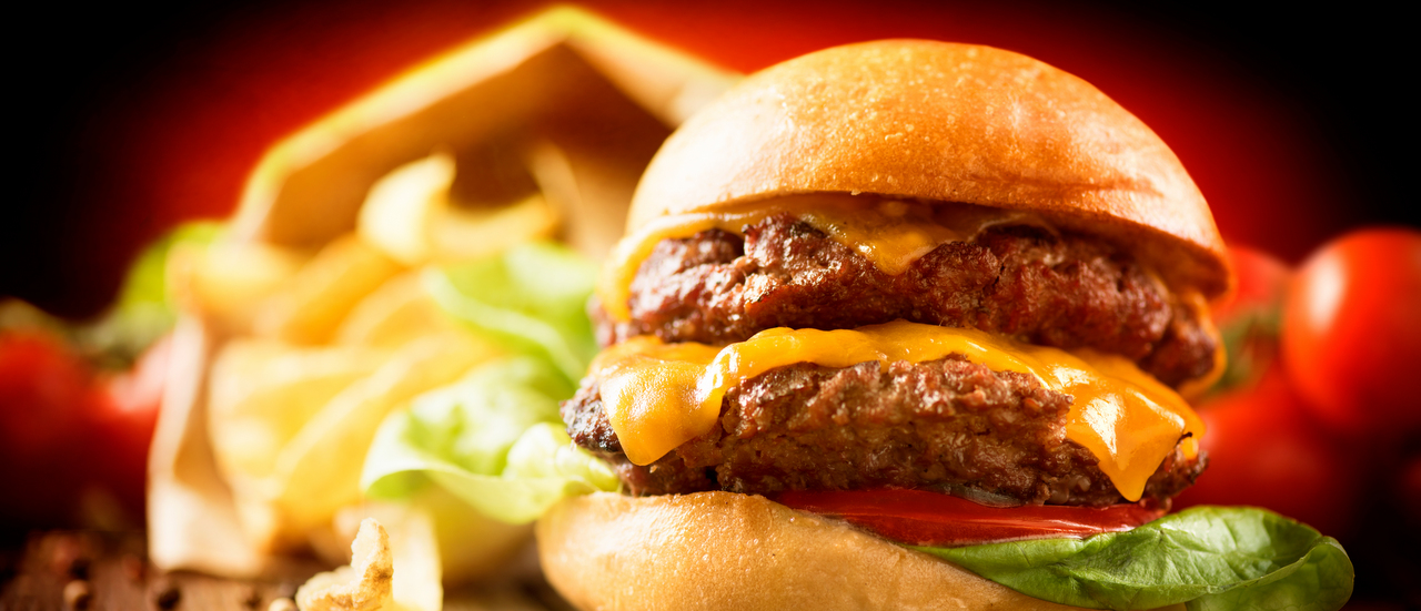 Is it possible to out-run a cheese burger?