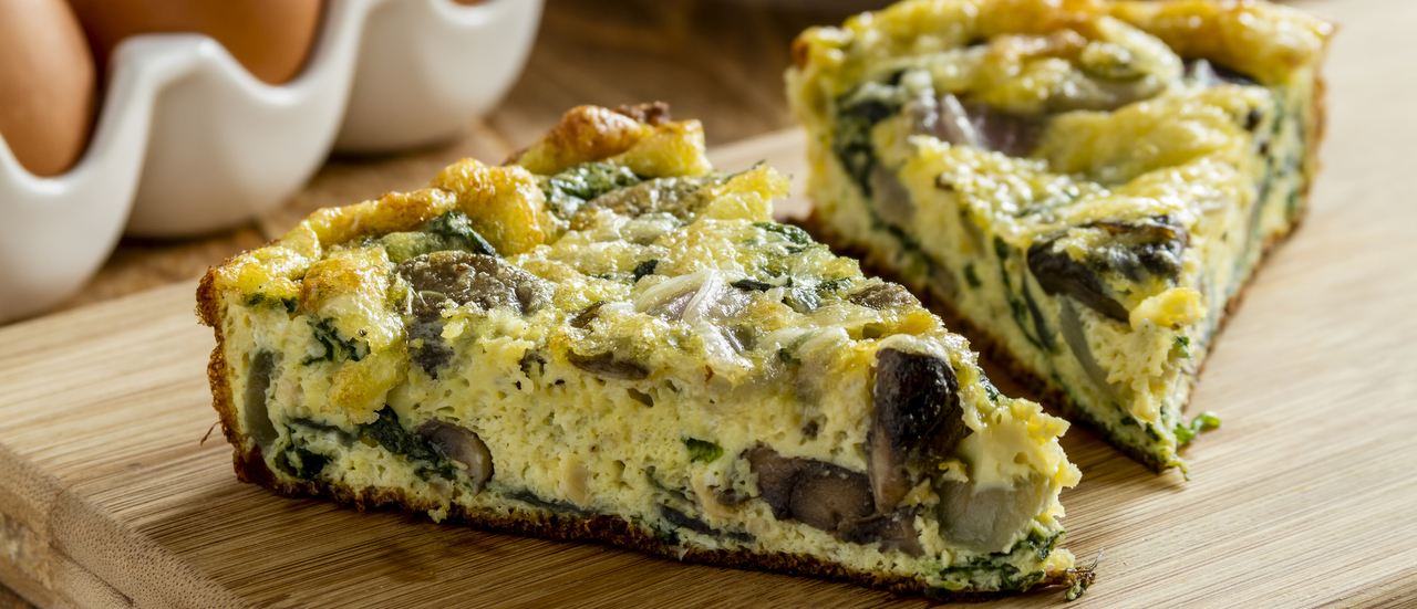 "The ""no-fail"" vegetarian frittata"