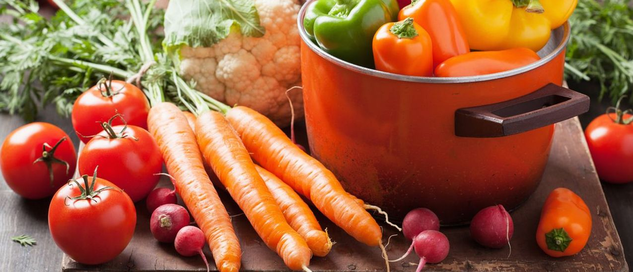 Fresh vegetables versus frozen vegetables
