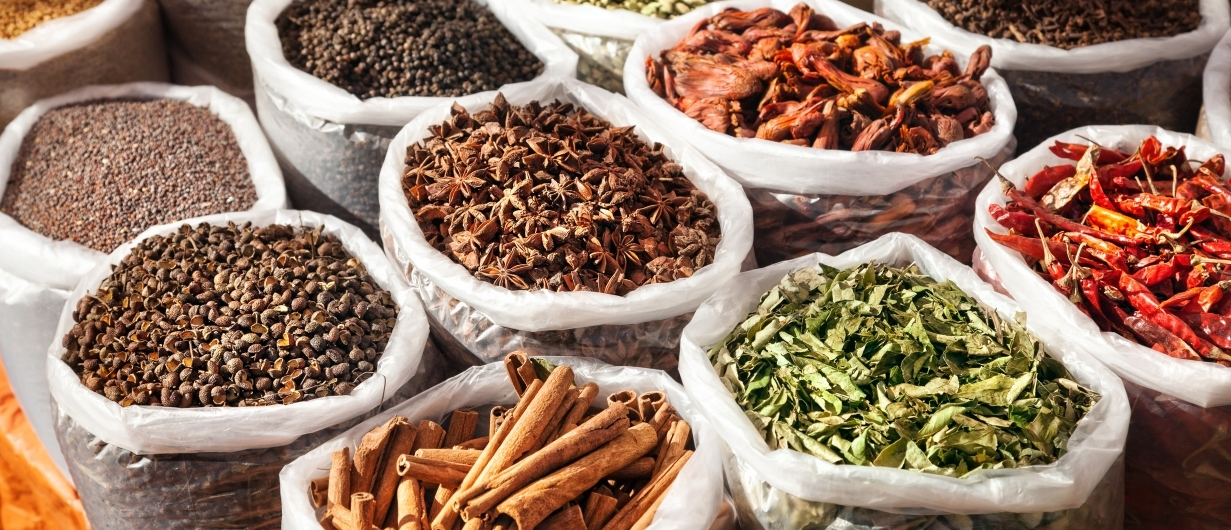 Using winter spices as medicine