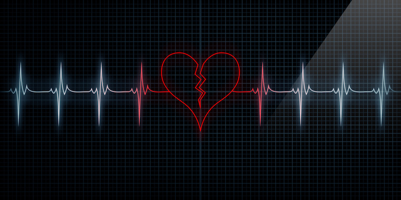 The anatomy of heartbreak