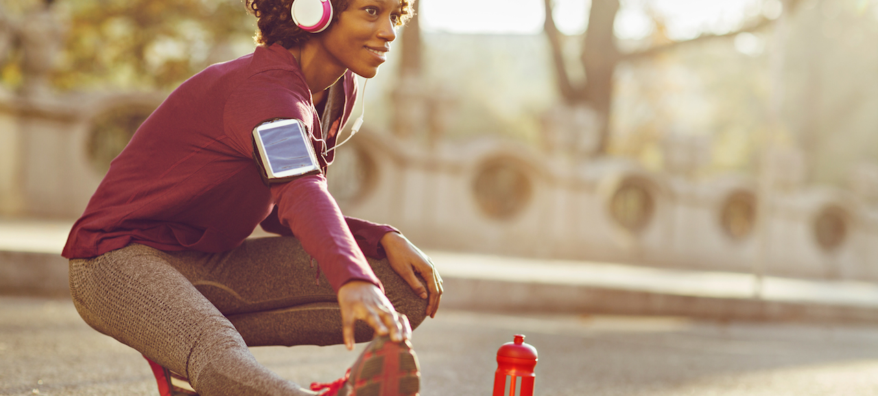 Want to get fit? Pump up the volume