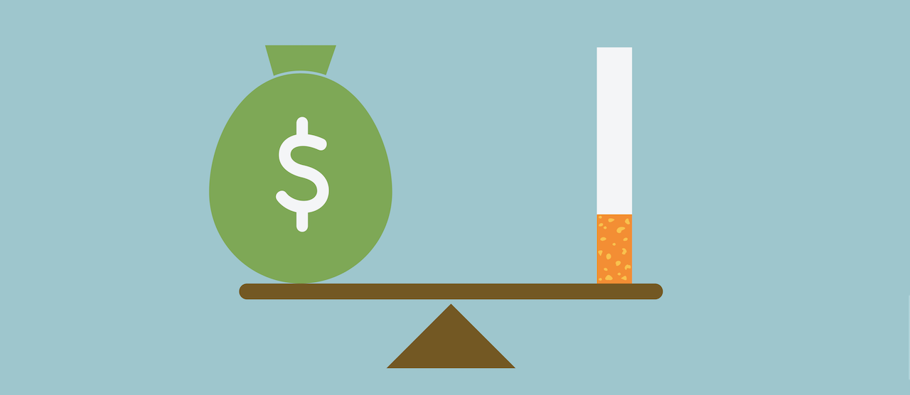 How much you'll save without sugar and cigarettes