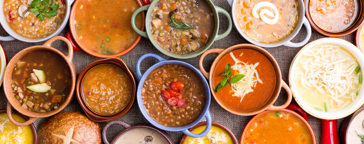 Soups to warm your winter