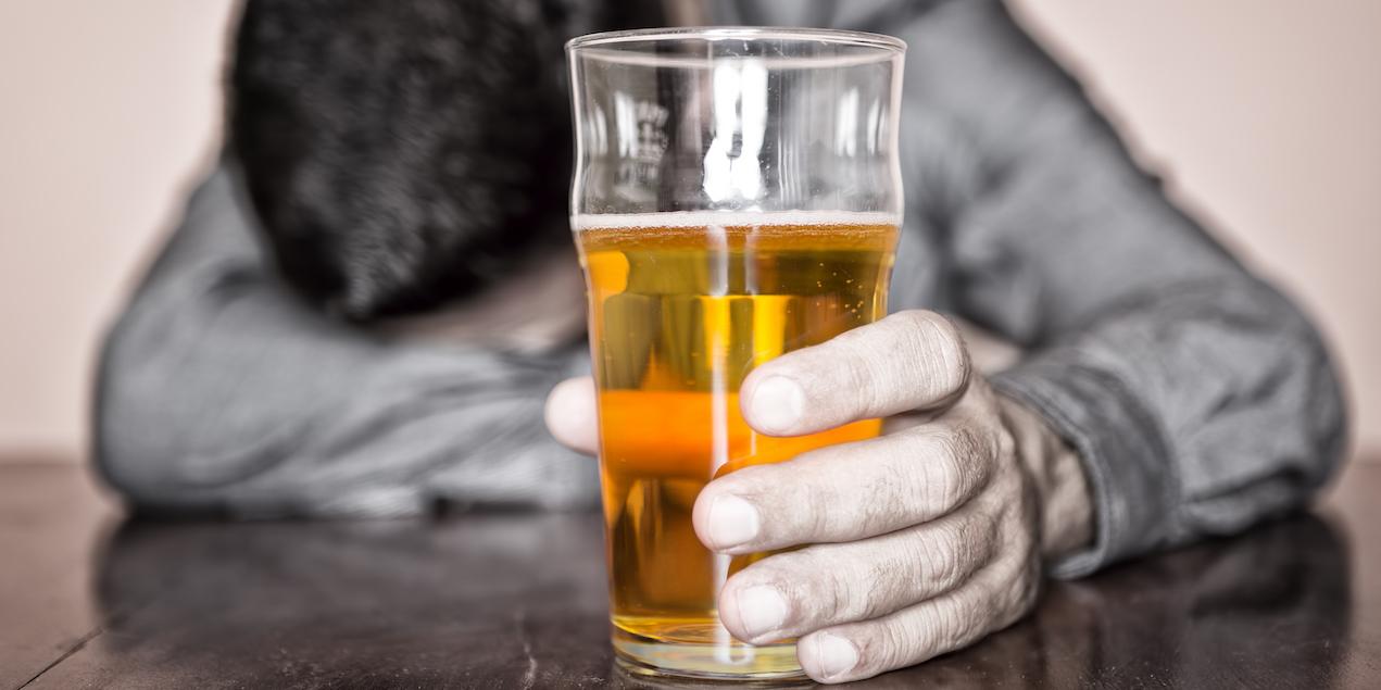Does your friend have a secret drinking problem?