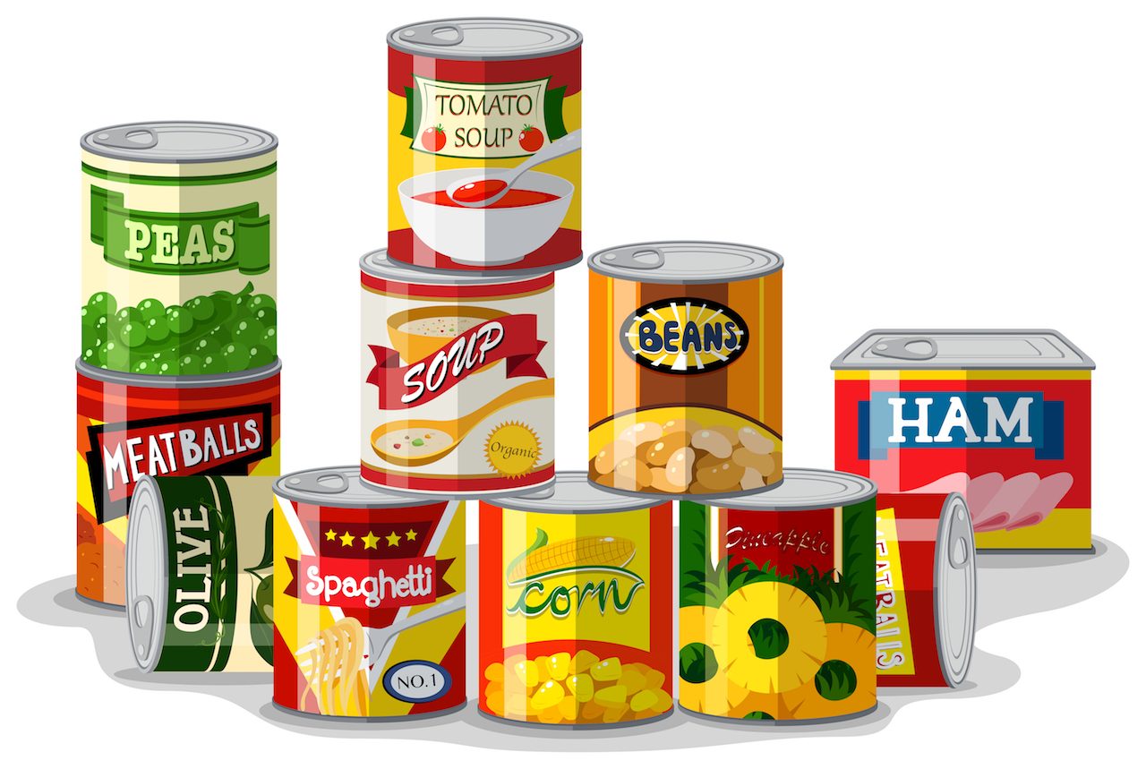 Canned foods: the good, the bad and the ugly truth