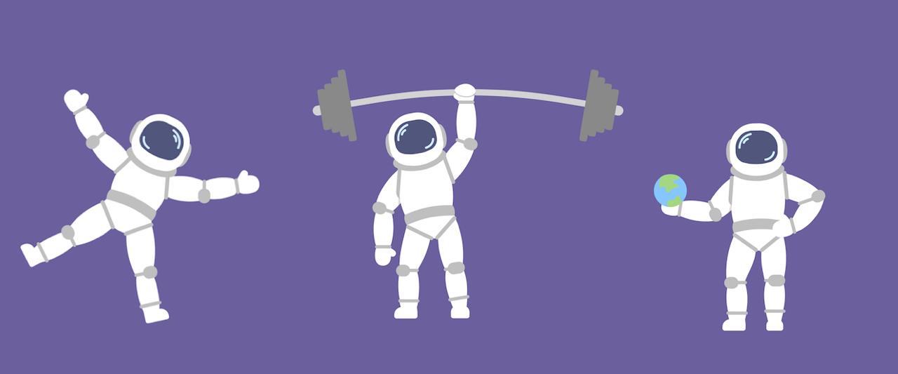 How to train like an astronaut
