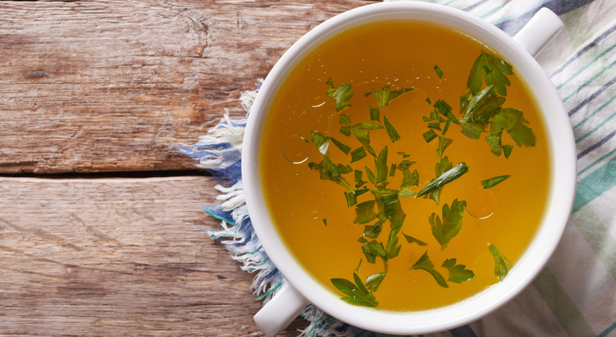 Delicious broth recipes for beautiful skin