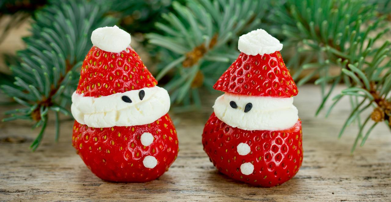 Healthy treats to enjoy around the Christmas tree