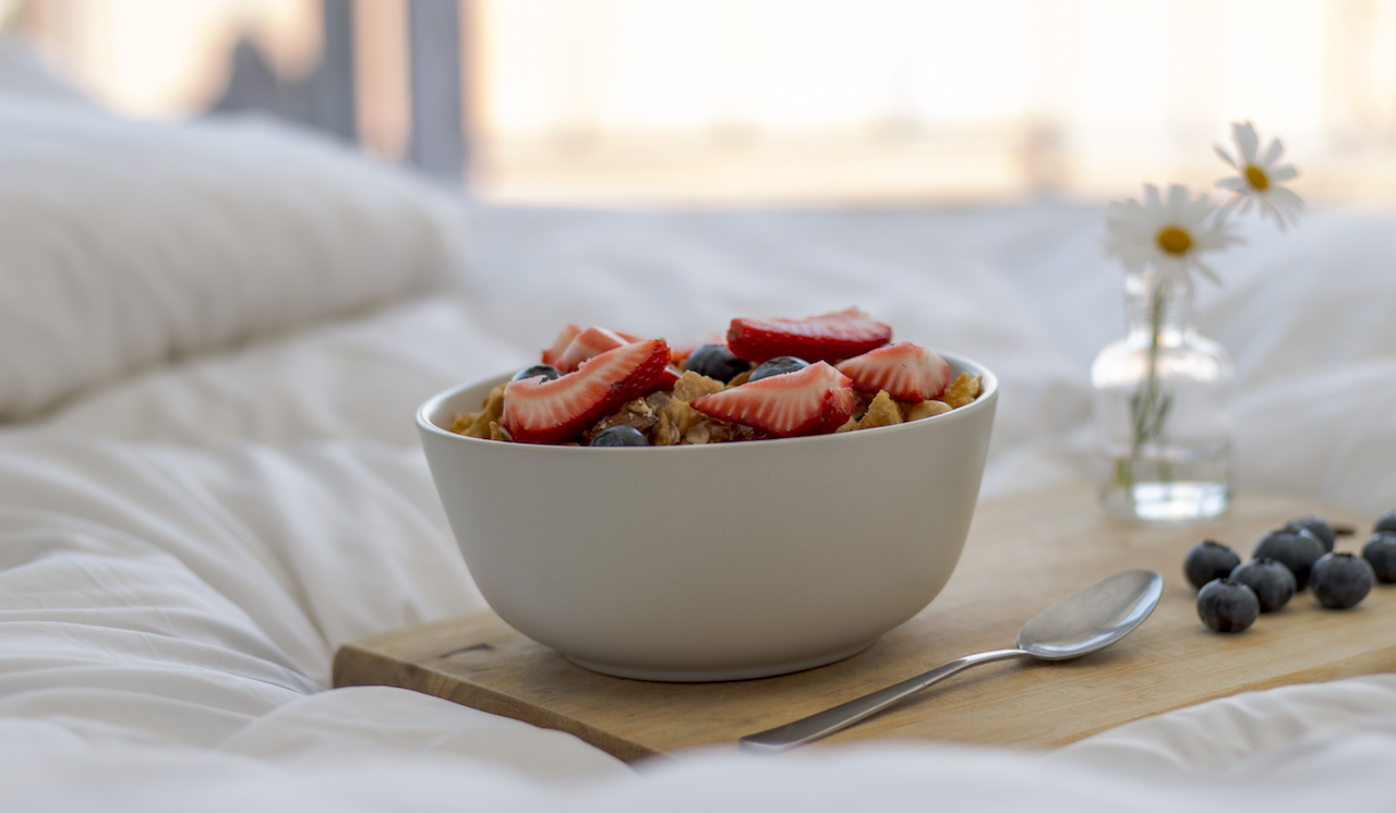 Spoil your partner with these breakfast-in-bed recipes