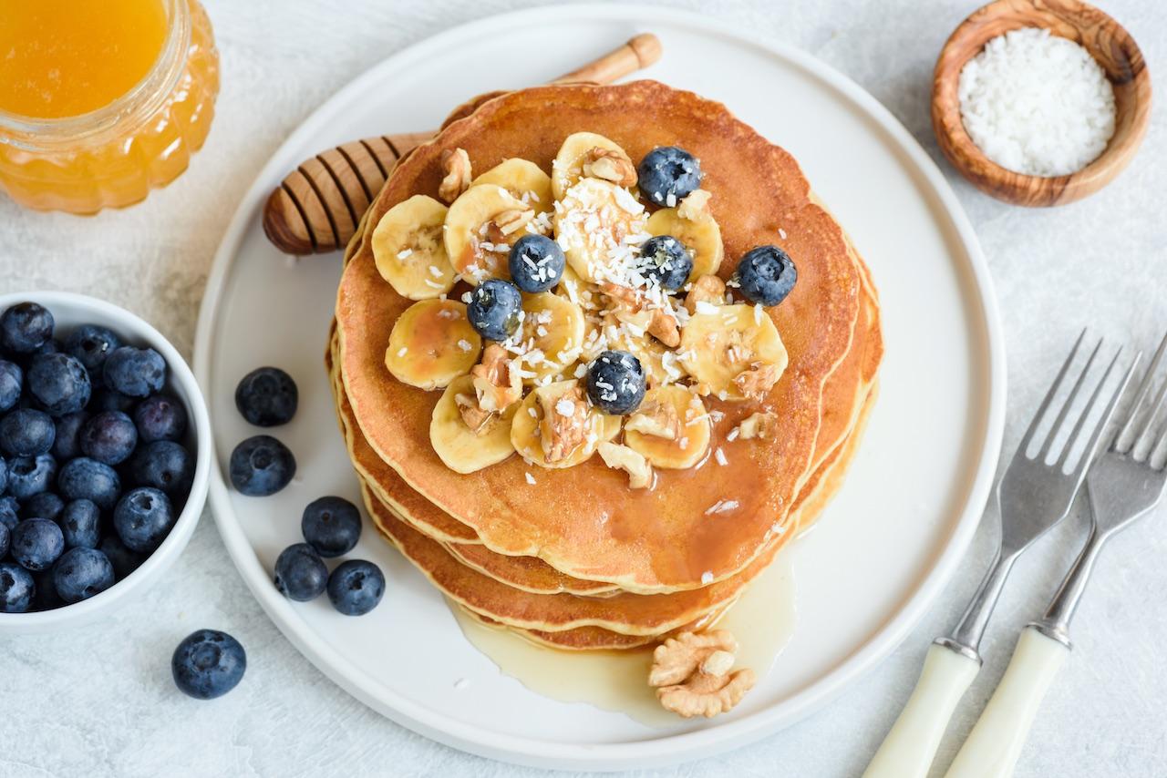 Healthy Pancakes in 1-2-3!