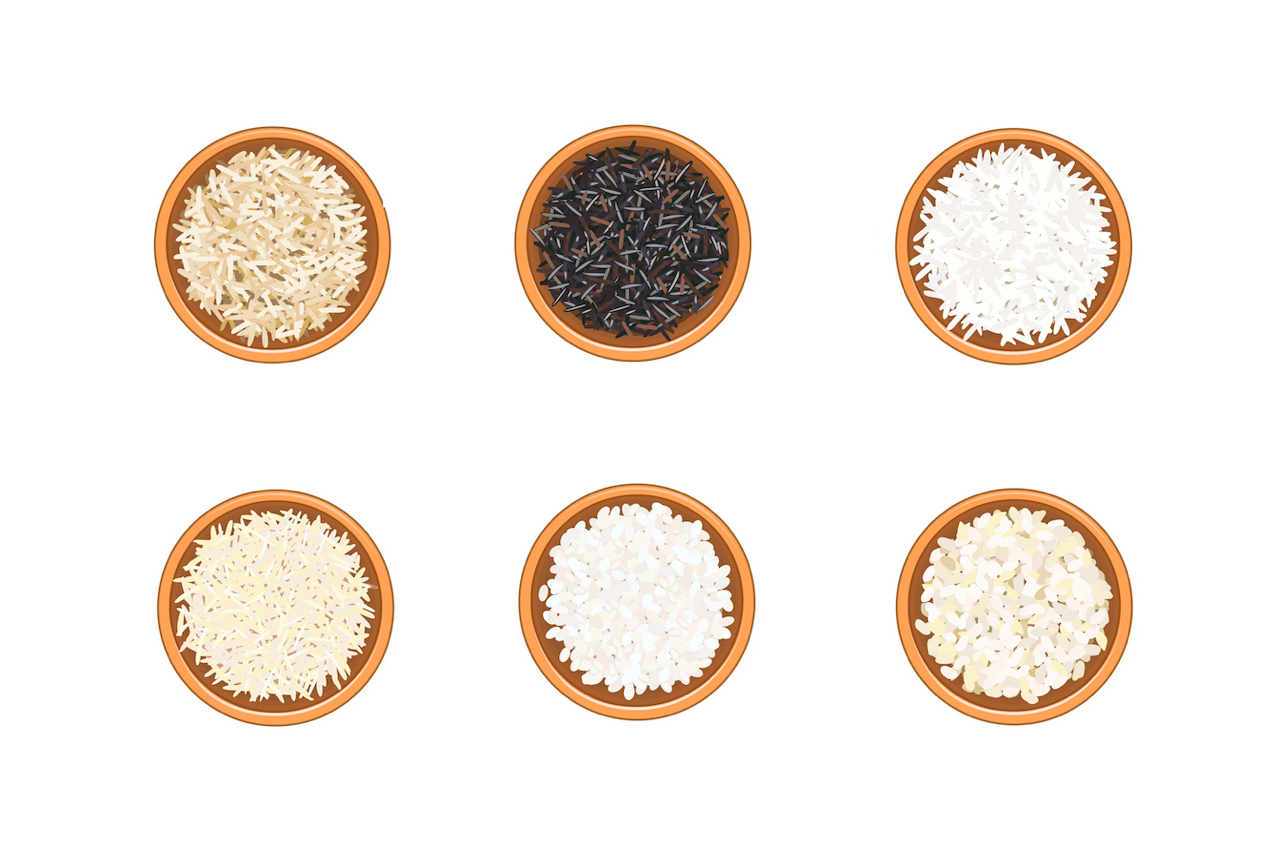 Which type of rice is the healthiest?