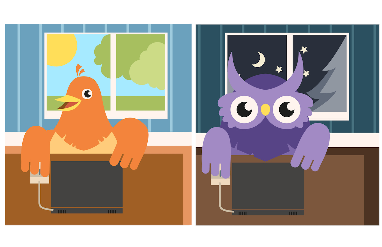 Early birds vs. night owls – who has it best?