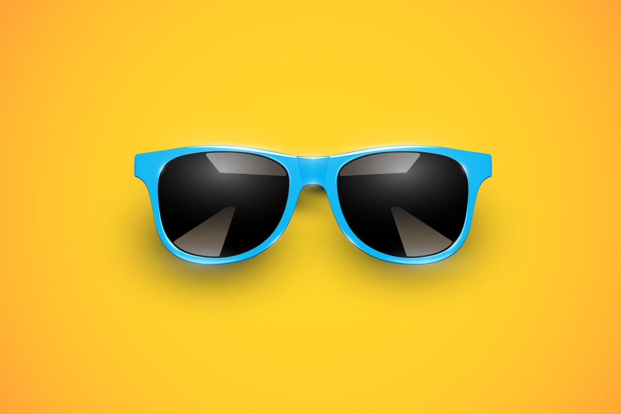 Don't skimp on your sunglasses!