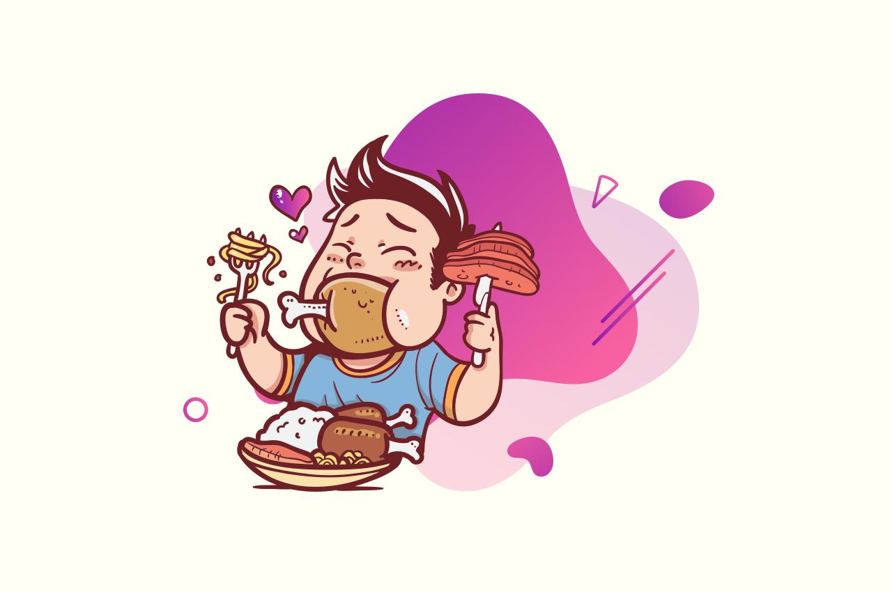 Binge eating: indulgence or addiction