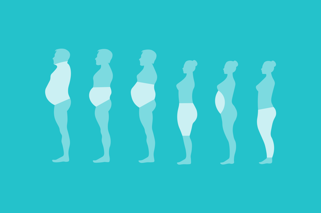 Different types of body fat and what to do about it