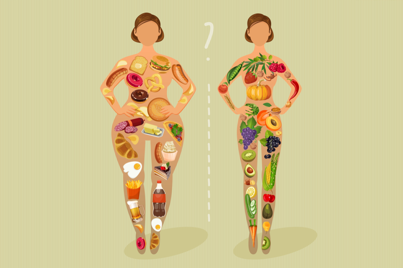 How to lose weight and not gain it back