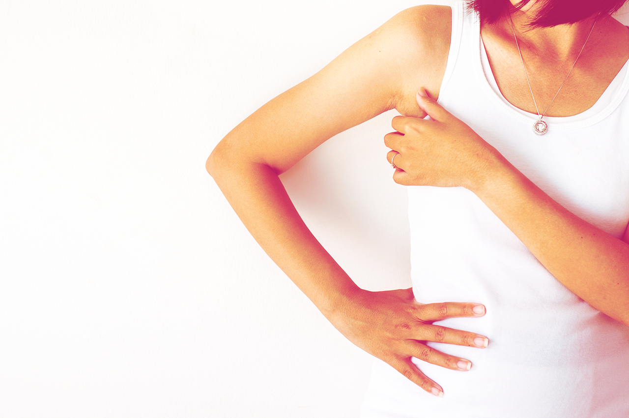 I have a lump in my armpit – what do I do?