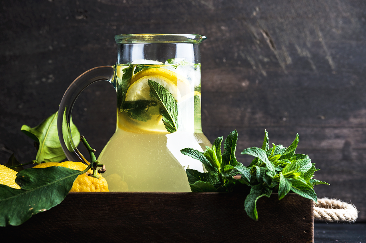 Home-made lemonade to boost your health