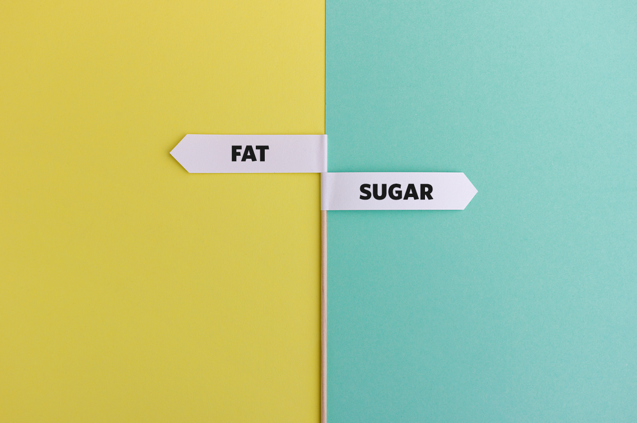 Sugar vs. fat – which is worse for your health?