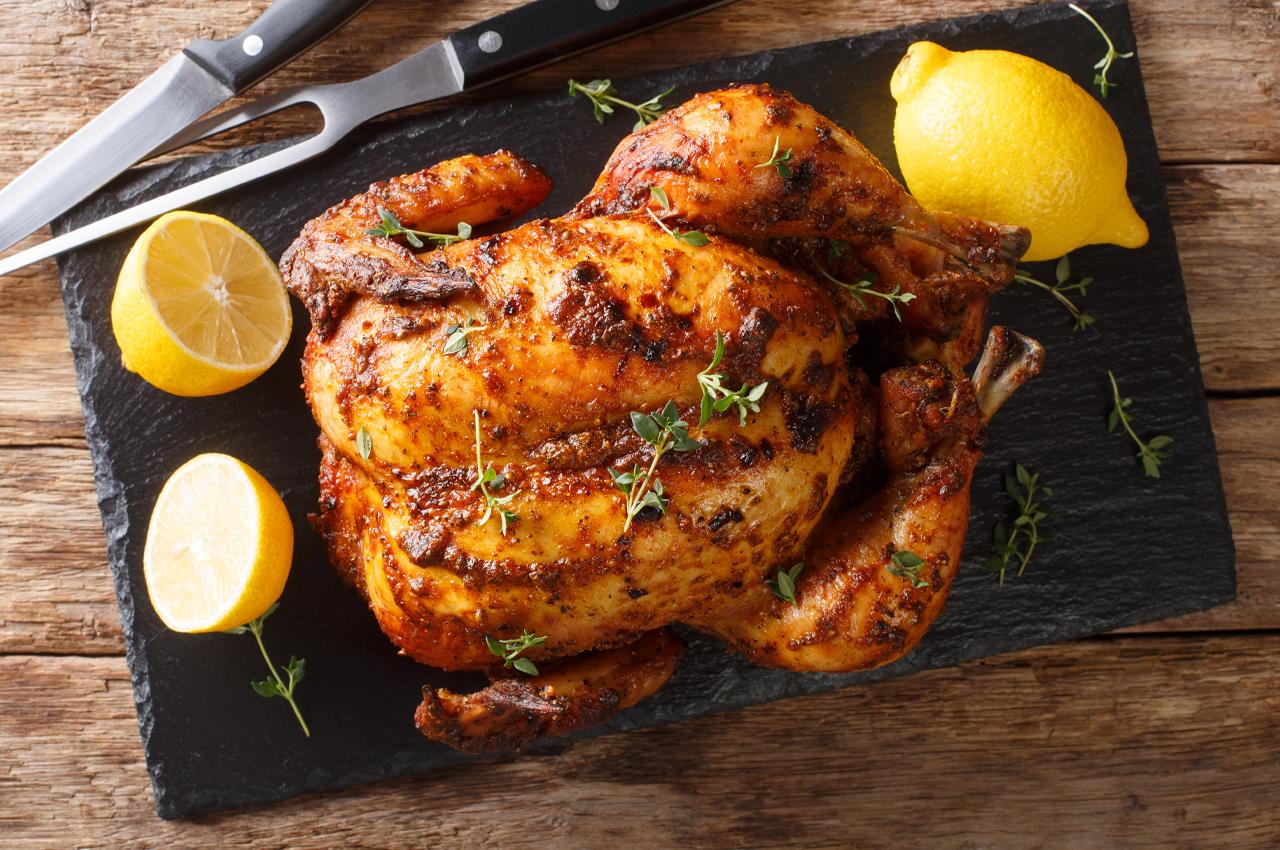 Roasted lemon chicken…gluten-free!