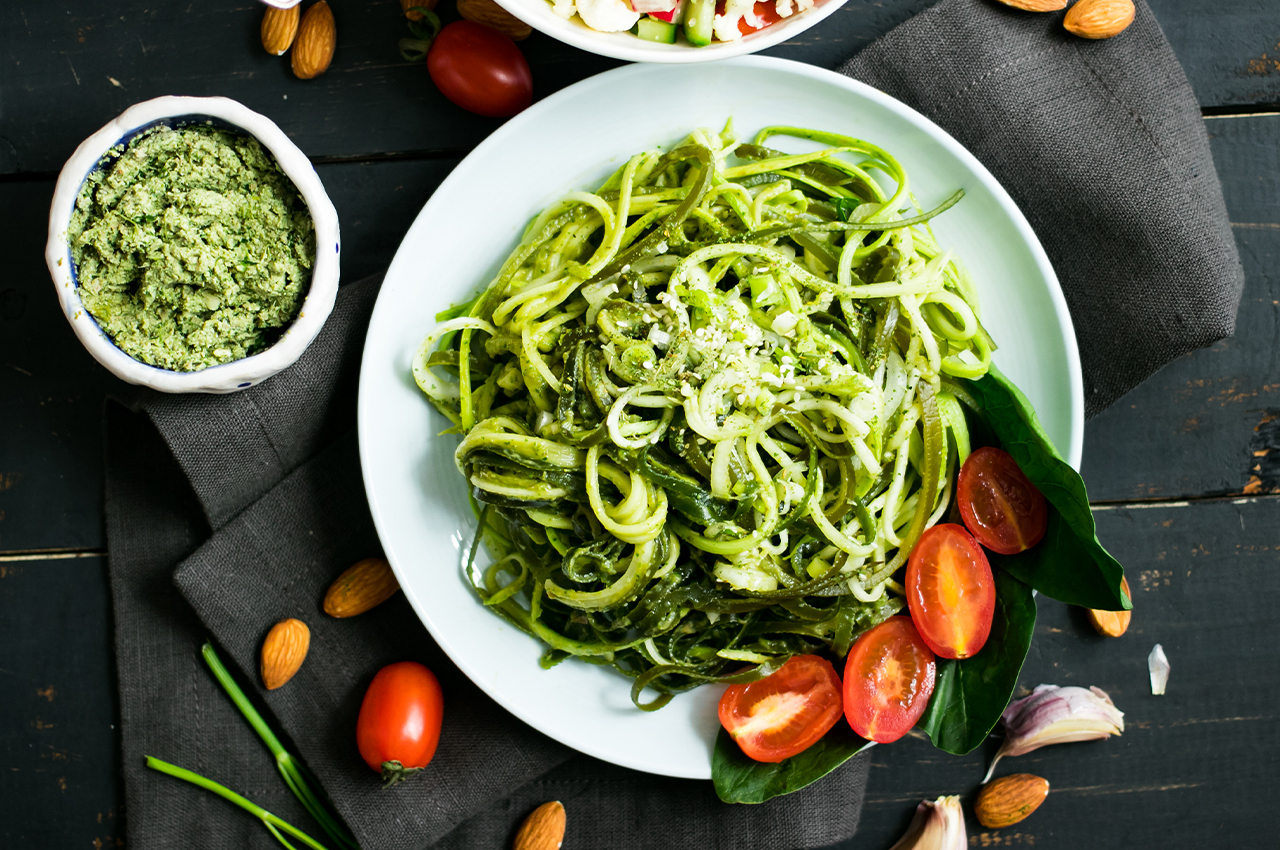 Three low-carb pasta replacement recipes