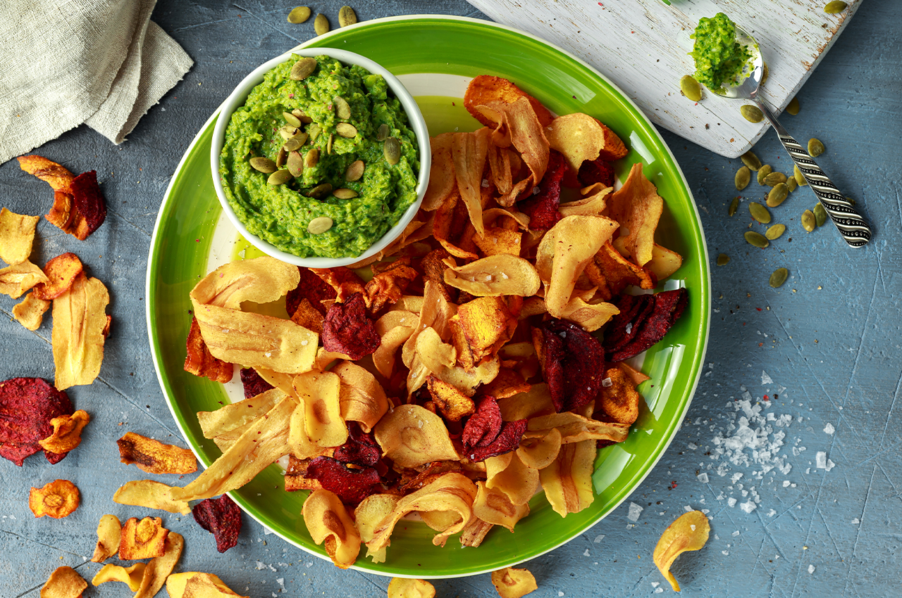 TV Snacks for the health conscious