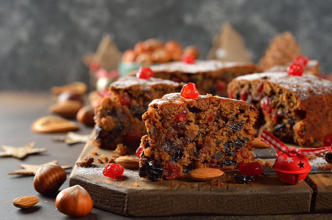 Tasty low GI Christmas cake for Diabetics